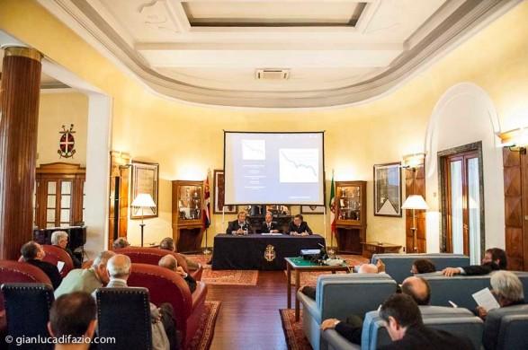 10 aprile 2014. Regate veliche. 1^ Combinata Isole Pontine. Conferenza stampa a Ripetta