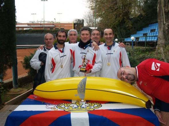 1° Torneo Sociale «Piedi a banana». Dicembre 2013