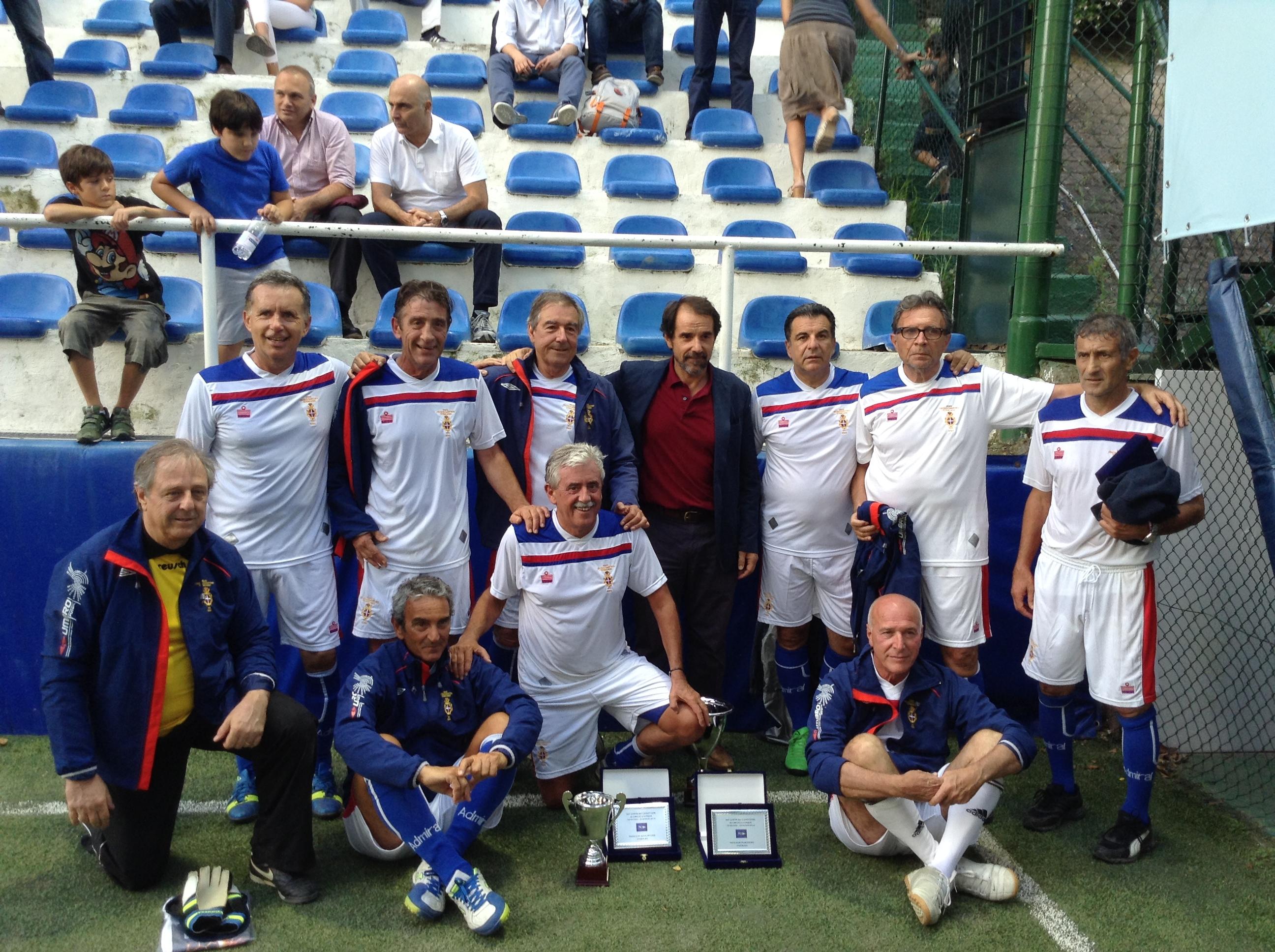 Calcetto – Coppa dei Canottieri luglio 2014: finale over 60. Invincibili e devastanti!