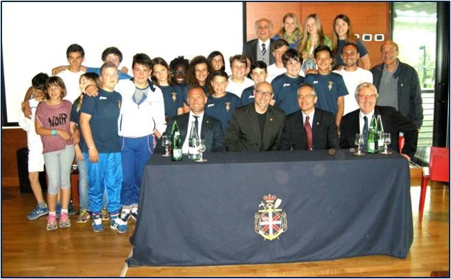 23 aprile 2014 – ISA – Pomeriggio dedicato alla canoa – Incontro con la scuola e con gli olimpionici