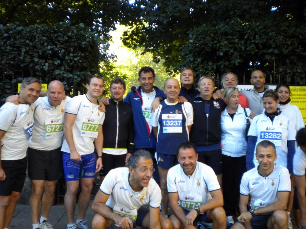 6 ottobre 2013. Mezza Maratona di Londra