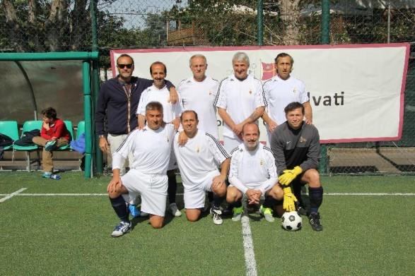 Aprile 2014. Torneo di calcetto Gian Marco Salvati. Bene i nostri colori!