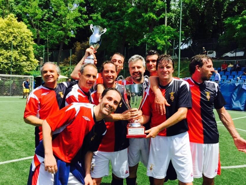 9^ edizione Torneo Club Circoli Sportivi Storici. Memorial Mauro Rosati. Maggio 2015. Il Trofeo resta a casa nostra!!