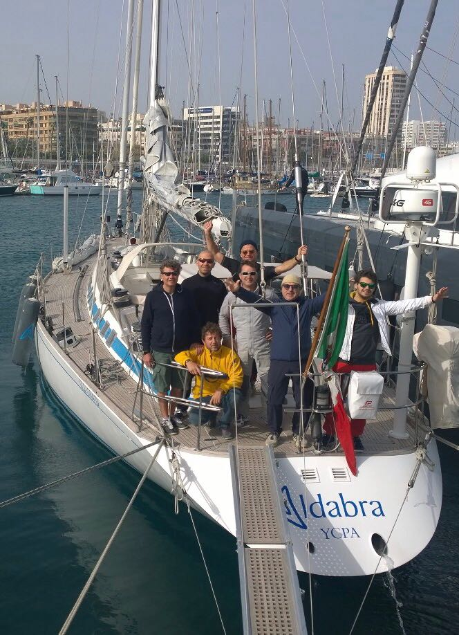 Traversata atlantica a vela del nostro socio Alessandro Focaracci
