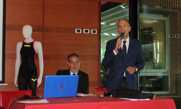 Presentazione della traversata di nuoto Carloforte Calasetta del 15 giugno 2018