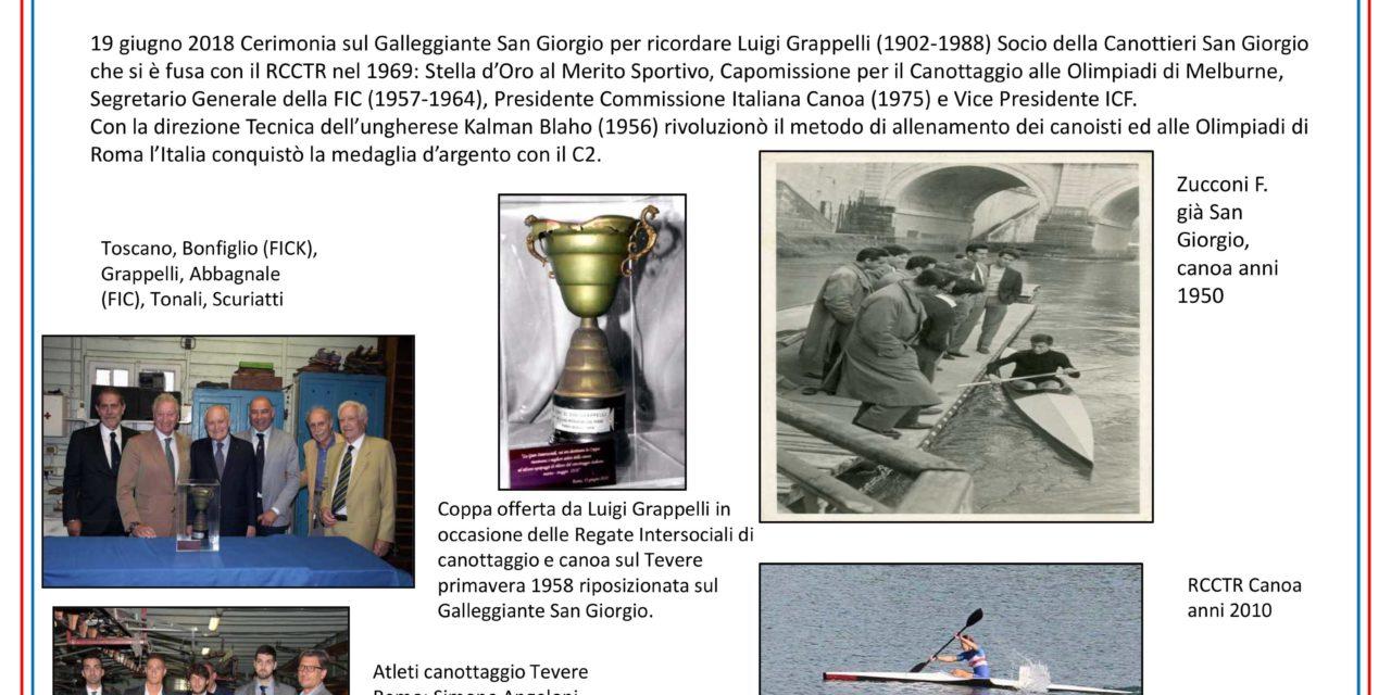 Cerimonia in ricordo di Luigi Grappelli