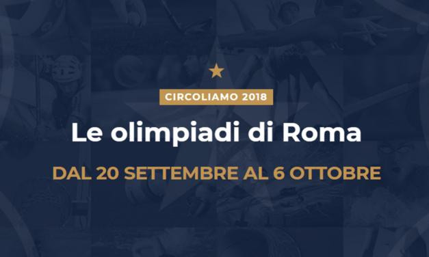La gara velica di Circoliamo 2018 organizzata dal circolo Tevere Remo
