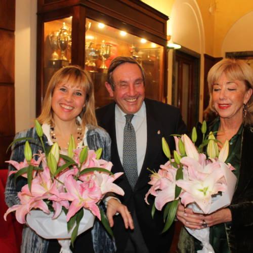 1 Antonella Prenner, Fausto Milano e Marina Mattei --