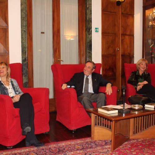 1 Antonella Prenner, Fausto Milano e Marina Mattei ---