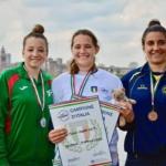 Sara Mzygold del Tevere Remo campionessa d'Italia