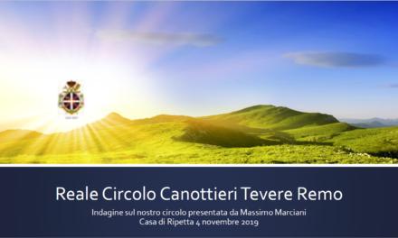Indagine statistica Tevere Remo Massimo Marciani