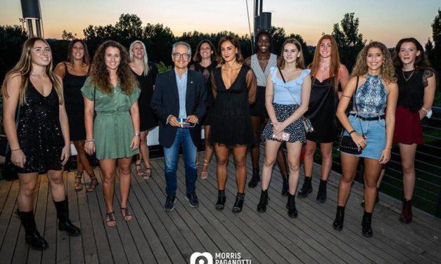 Al R.C.C. Tevere Remo la presentazione del Roma Volley Club Femminile