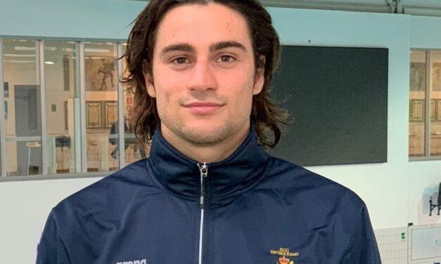 Grande risultato del nostro capitano Matteo Pani nei 50 dorso