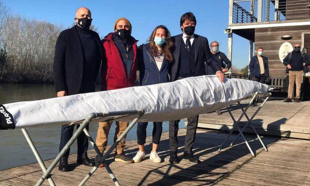 Alla Tevere Remo la nuova canoa per la campionessa Sara Mrzyglod