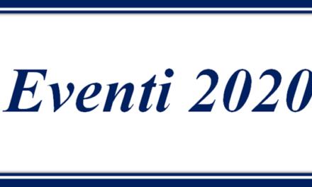 Eventi 2020 R.C.C.T.R.