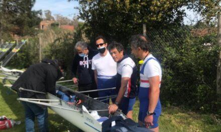 Canottaggio – Sabaudia 27 marzo 2021