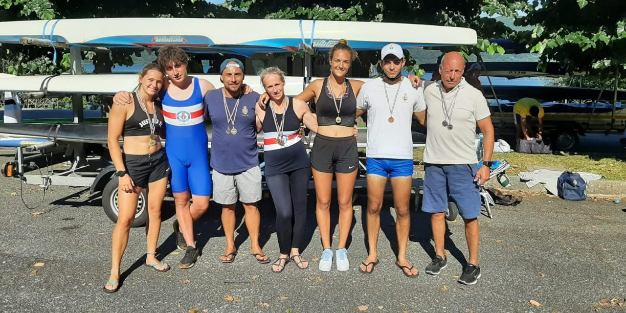 Grandi risultati per il RCCTR ai Campionati regionali 2021 di Kayak